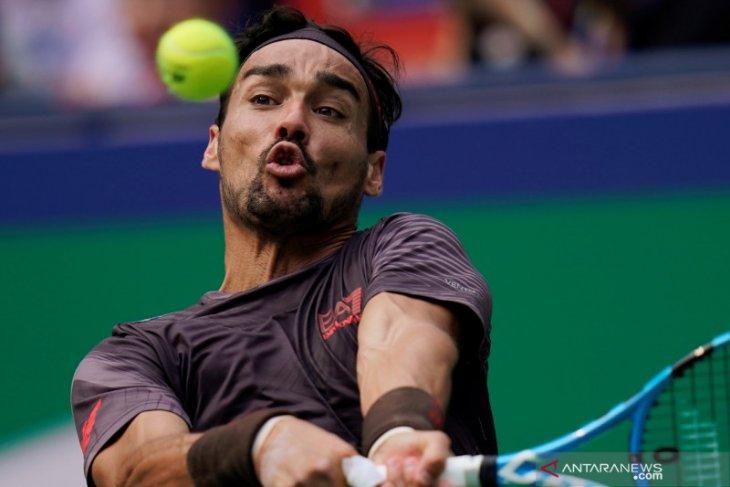 Petenis Italia Fognini mundur dari turnamen Sardinia Open karena positif COVID-19