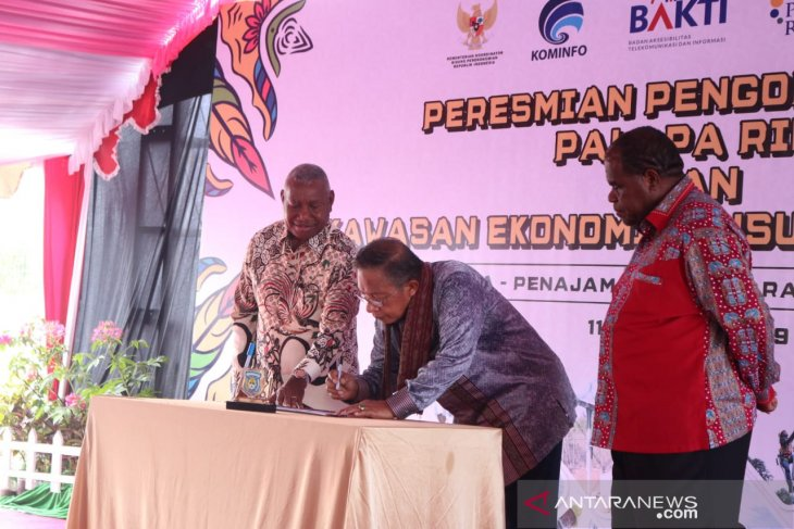 Minister inaugurates Special Economic Zone in Sorong