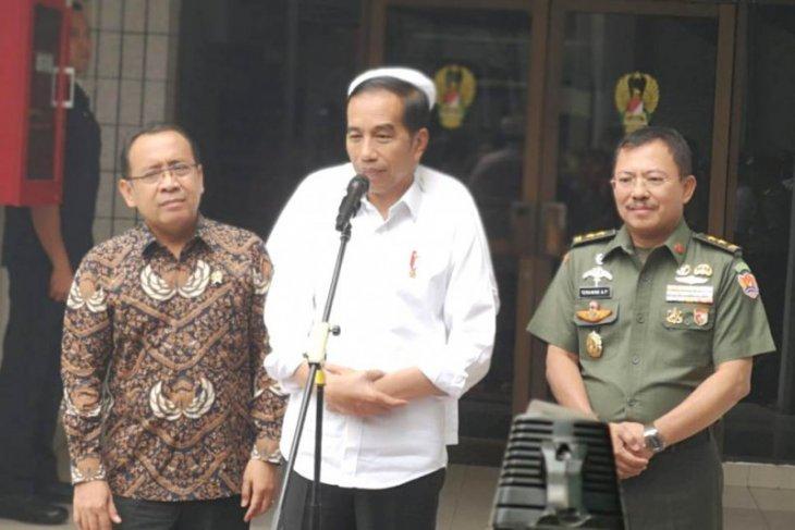Prabowo bertemu Presiden Jokowi di Istana Negara Jumat sore