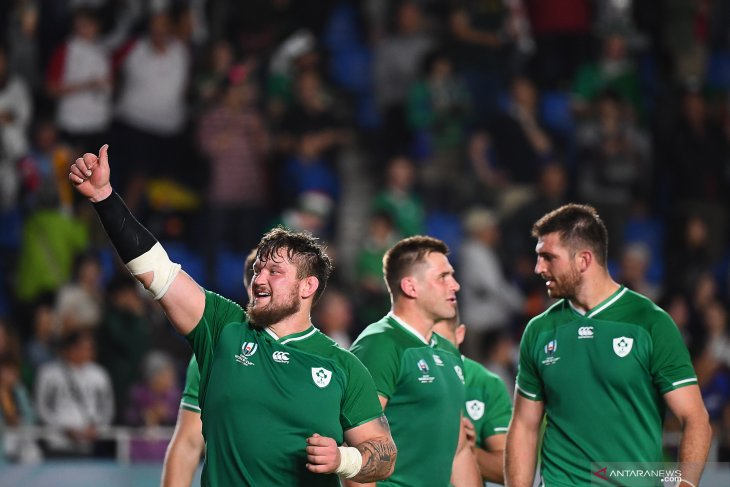 Piala Dunia Rugby - Irlandia kunci tiket perempat final setelah pecundangi Samoa