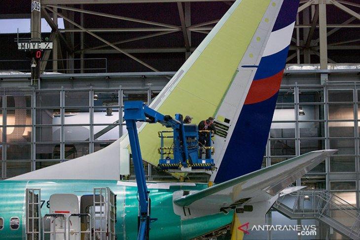 Retakan di badan pesawat, seluruh Boeing 737NG diperiksa