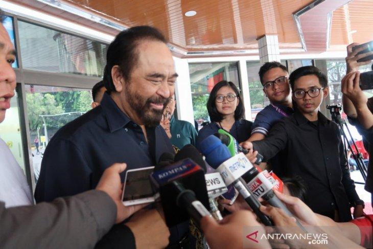 Surya Paloh sebut Wiranto sudah di kamar rawat  inap