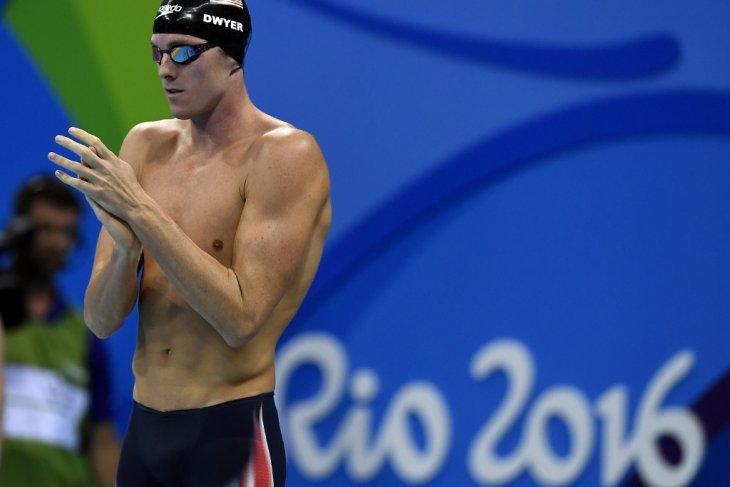 Perenang AS  Conor Dwyer positif menggunakan doping, lalu putuskan pensiun