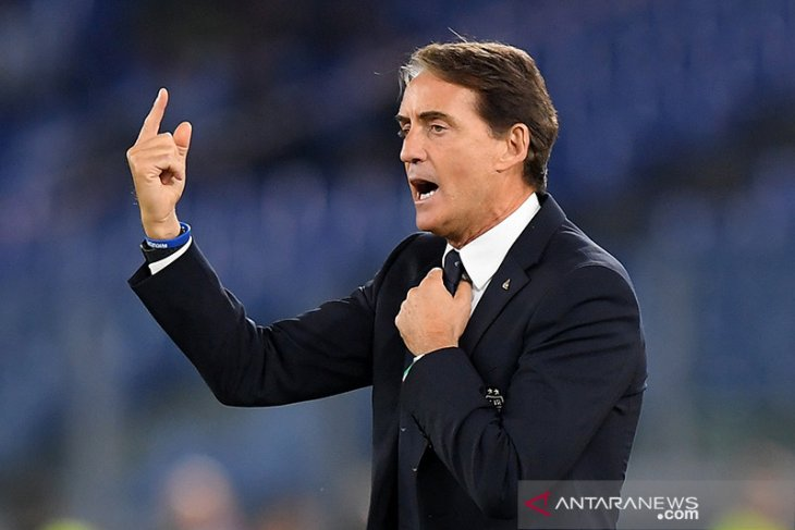 Mancini sebut Italia masih jauh jadi tim terbaik Eropa