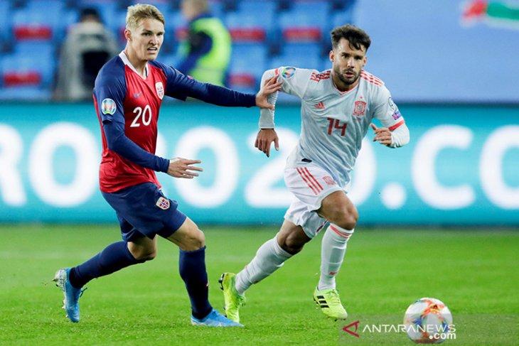 Piala Eropa 2020 - Norwegia tunda kelolosan Spanyol