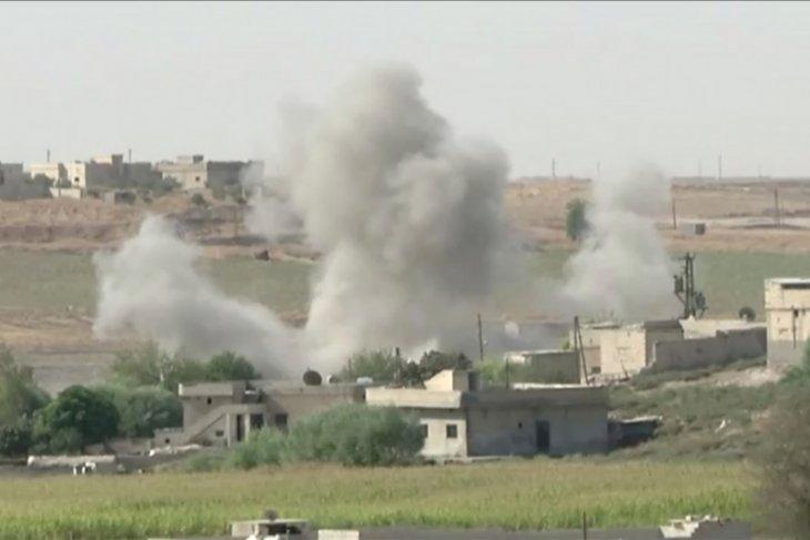 Pasukan pimpinan Turki kuasai bagian kota Suriah dalam serangan terhadap milisi Kurdi