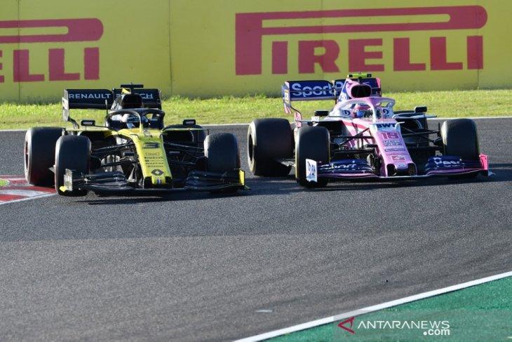 FIA sita komponen mobil tim Renault milik dua pebalap