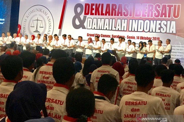 FORKAS Jatim deklarasi menjaga kerukunan dan iklim usaha kondusif