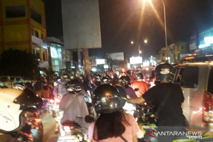 Polresta Pontianak lakukan rekayasa lalu-lintas atasi kemacetan