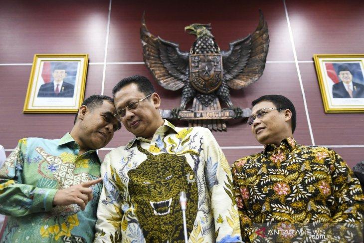 MPR kirim undangan pelantikan ke Jokowi dan SBY