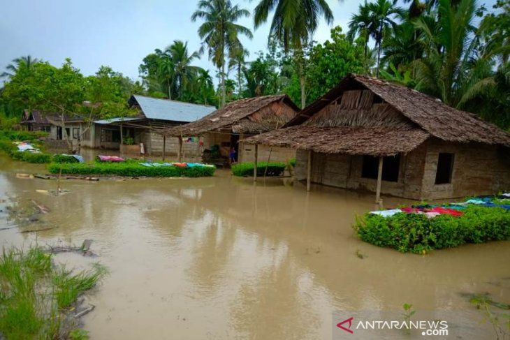 Ratusan rumah di Pulau Nias terendam banjir