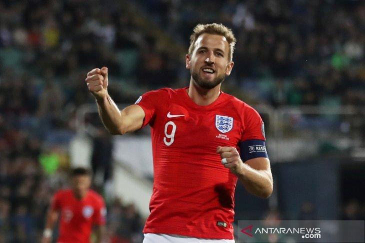 Inggris bungkam Bulgaria skor  6-0