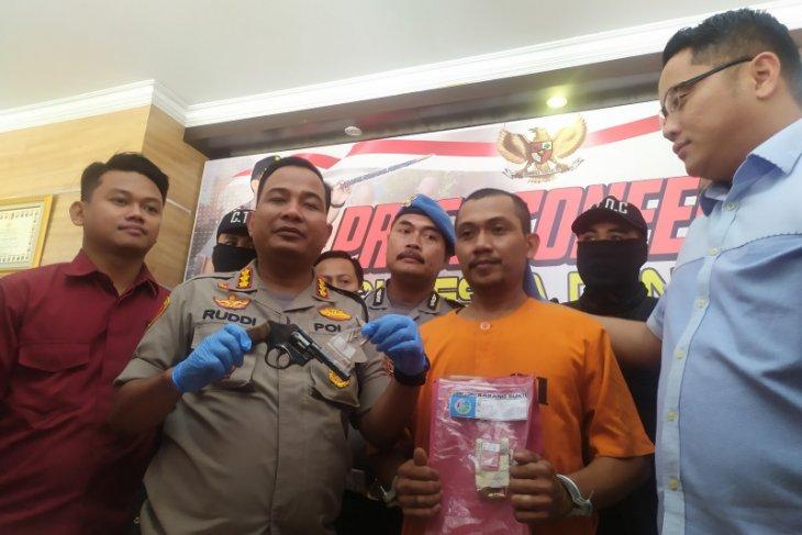 Polresta Denpasar tangkap pemilik senpi dan sabu