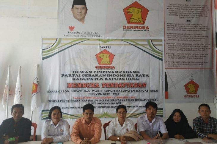 Gerindra Kapuas Hulu buka pendaftaran untuk Pilkada 2020
