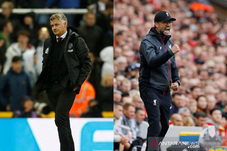 Liga Inggris - MU vs Liverpool, rivalitas lama terpaut 15 poin