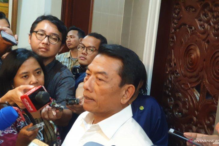 Moeldoko: Istana menyelenggarakan acara apresiasi Kabinet Kerja