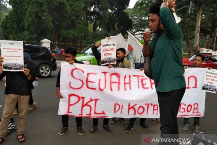 PKL di Kota Bogor terus ditata secara bertahap