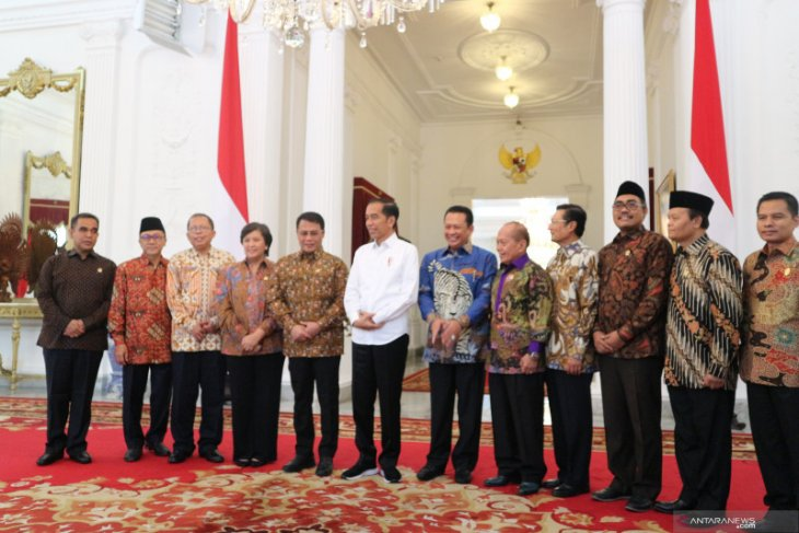 Old hands still part of new cabinet line-up: Jokowi