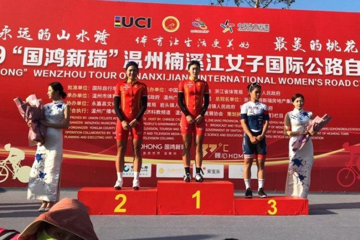 Pebalap putri Indonesia Ayustina dapat modal berharga sebelum turun di SEA Games 2019
