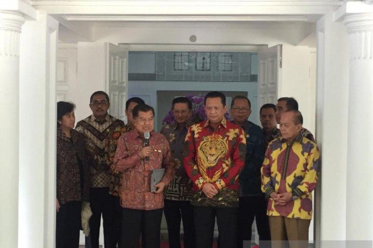 MPR seeks Jusuf Kalla's inputs on Constitution