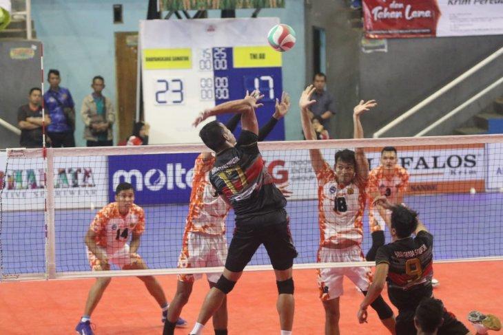 Bhayangkara Samator dan Berlian melaju ke semifinal Livoli
