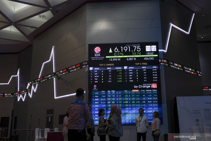 IHSG closes higher after inauguration of new cabinet