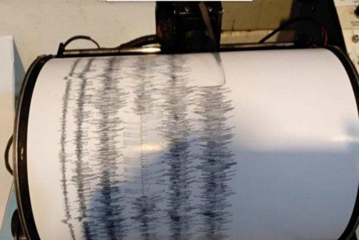 Gempa bumi magnitudo 4,8 guncang Mataram, Lombok Utara dan sebagian wilayah Bali