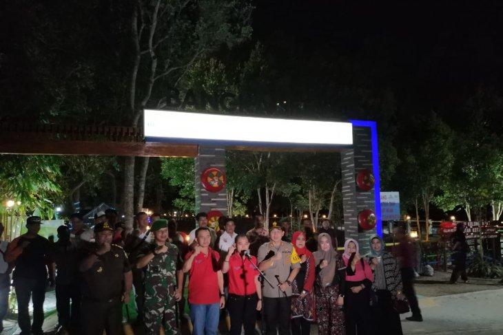 Bupati Bangka pimpin deklarasi dukung pelantikan presiden