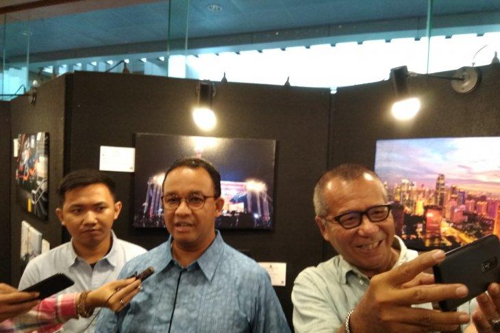 Gubernur DKI Jakarta Anies imbau masyarakat tidak turun ke jalan saat pelantikan presiden