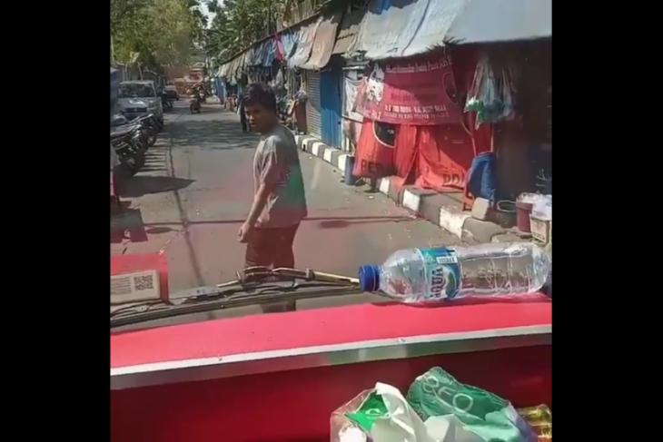 Pelaku pemalakan supir truk yang sempat viral diciduk PolsekTambora