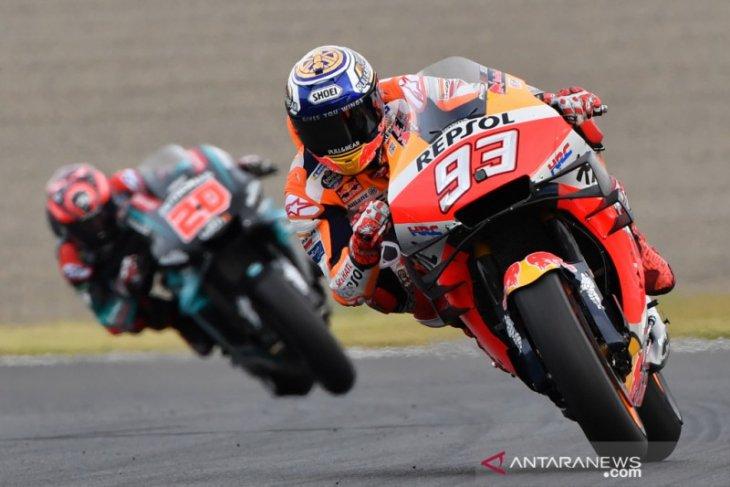 GP Jepang, Marquez nyaris kehabisan bahan bakar