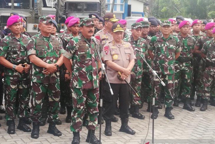 Panglima TNI pantau terus pengamanan pelantikan presiden