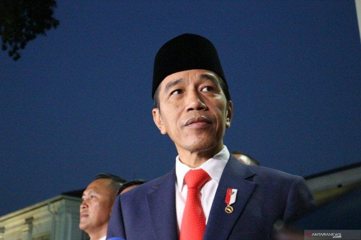 Presiden Jokowi:  Pelantikan menteri bisa Senin, bisa Selasa, bisa Rabu