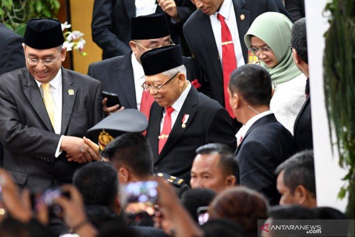VP Ma'ruf Amin departs for Japan to attend Naruhito's coronation