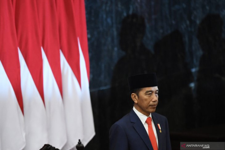 Jokowi-Ma'ruf Amin officially become president and vice president
