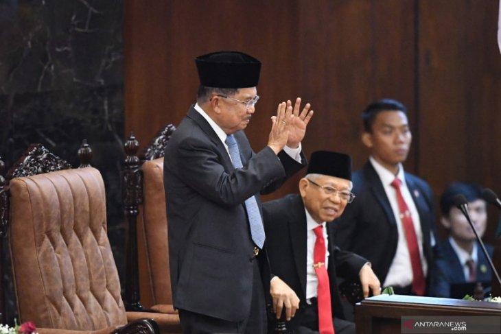 Presiden Jokowi ucapkan terima kasih untuk Jusuf Kalla