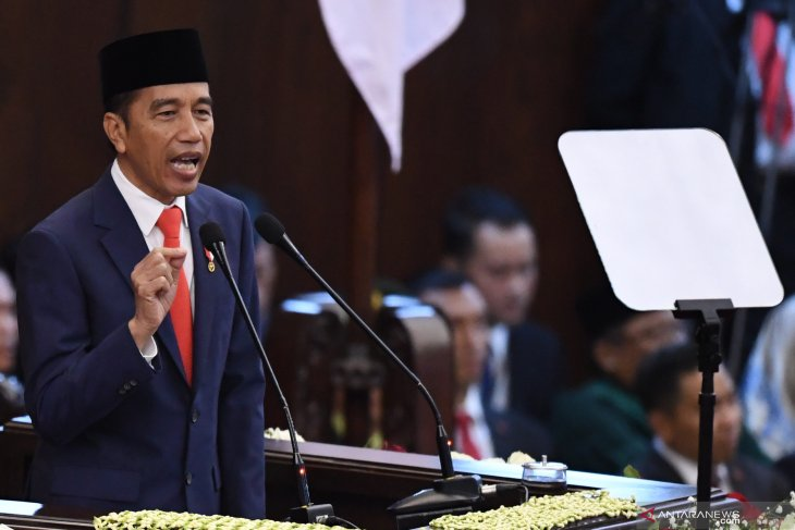 President Jokowi sets five priorities for his second term