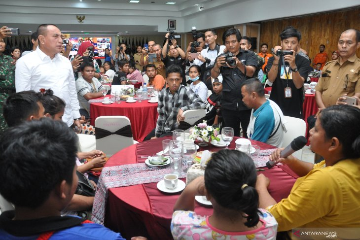 Gubernur Sumut kembali sambut pengungsi Wamena Papua