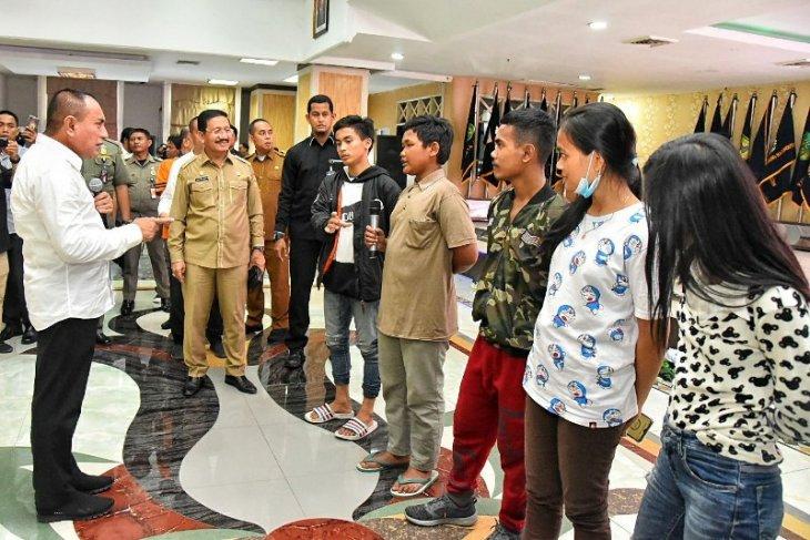 175 pengungsi dari Wamena tiba di Medan