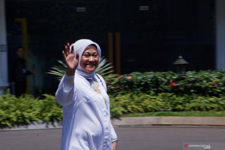 Mantan wakil panglima TNI dan politisi PKB datang ke Istana