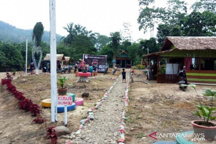 Desa Perkebunan Tapsel ciptakan wahana wisata alam dari dana desa