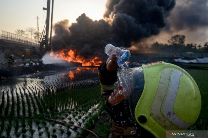 Kebakaran pipa Pertamina di Cimahi, wali kota sebut itu karena buruknya koordinasi