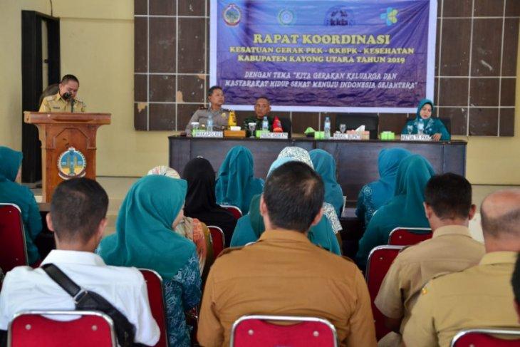 Rapat Koordinasi PKK KKBPK dan Kesehatan Kabupaten Kayong Utara