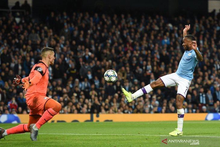 Hasil Liga Champions, Sterling bawa City menang besar atas Atalanta
