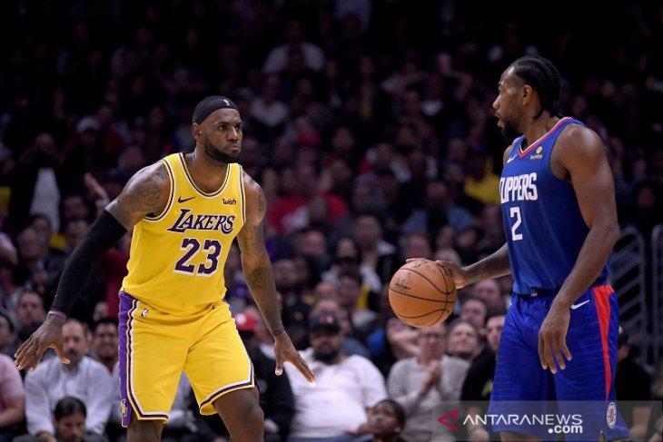 Clippers awali musim jadi tim terbaik Los Angeles