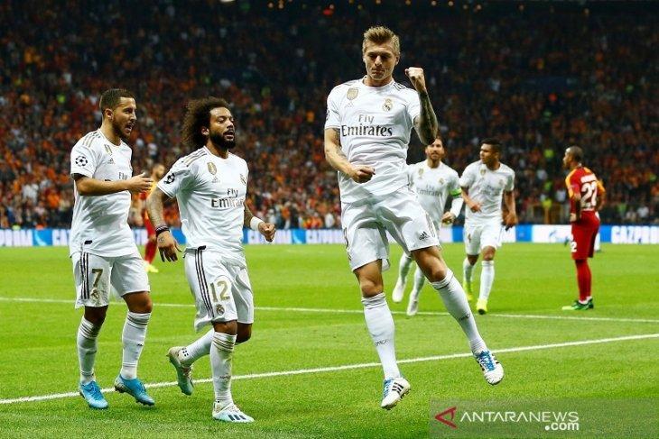 Liga Champions - Gol tunggal Kroos menangkan Madrid di markas Galatasaray