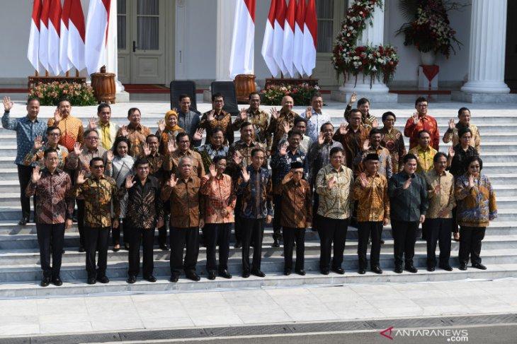 Ini dia nama-nama Kabinet Indonesia Maju
