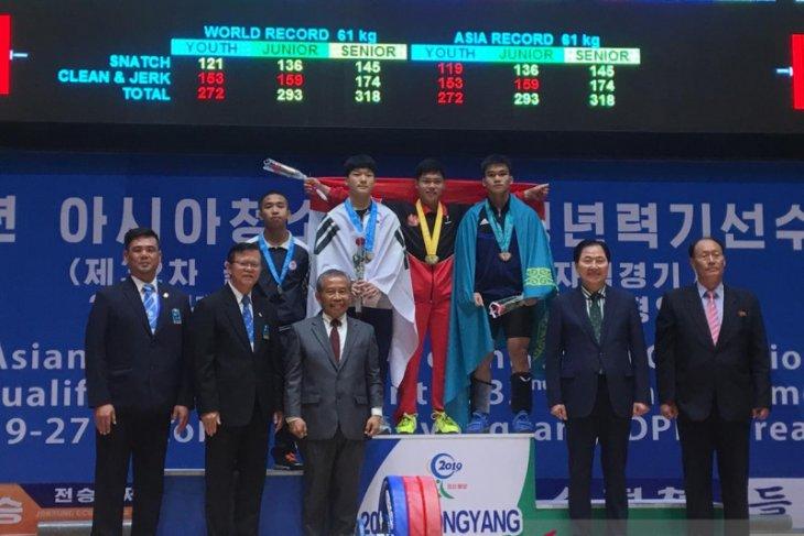 Lifter Indonesia borong medali Kejuaraan Asia Junior