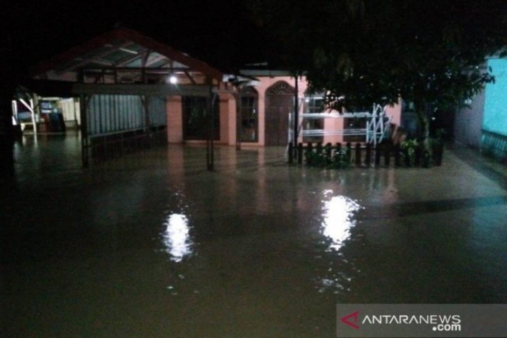 Flooding swamps some 500 homes in Mandailing Natal, North Sumatra