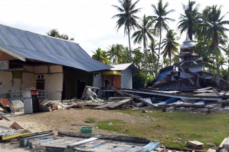 Gempa M 5,2 Maluku Utara juga merusak RSUD dan rusunawa